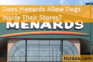 menards dog friendly