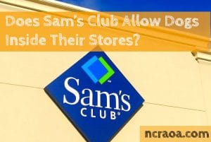 sam's club dog friendly